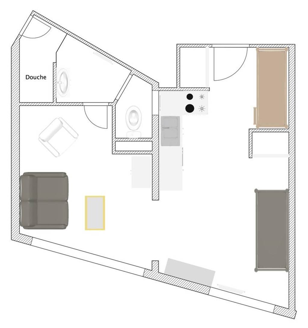 Marine Studio Cabine ARCACHON
